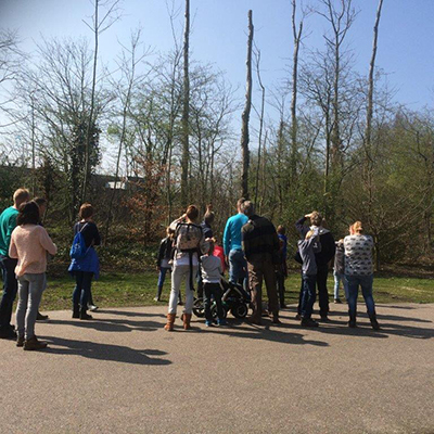 Excursie struinkids op 3 april 2016